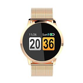 preiswerte Unterhaltungselektronik-Q8 Damen Smartwatch Android iOS Bluetooth Herzschlagmonitor APP-Steuerung Verbrannte Kalorien Übungs Tabelle Anruferinnerung Schrittzähler Anruferinnerung Schlaf-Tracker Sedentary Erinnerung Finden
