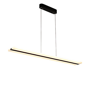 povoljno Viseća rasvjeta-100 cm moderna leda privjesak svjetla 36w akrilni dnevni boravak blagovaonica ured ili poslovna mjesta rasvjeta