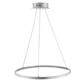povoljno Viseća rasvjeta-ecolight ™ 1-svjetlo kružni privjesak svjetlo ambijentalno svjetlo akril led 110-120v / 220-240v s toplom bijelom / bijelom / mogućnost prigušivanja s uključenim svjetlom