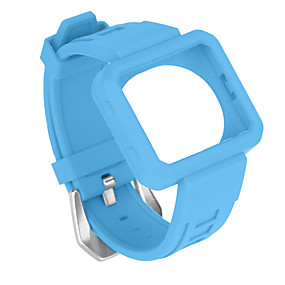 cheap Smartwatch Accessories-Watch Band for Fitbit Blaze Fitbit Sport Band Silicone Wrist Strap