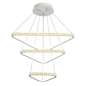 billige Forbedringer til hjemmet-lightmyself ™ geometrisk pendel lys omgivende lysmalte overflater metallkrystall 110-120v / 220-240v varm hvit + hvit led lyskilde inkludert / led integrert