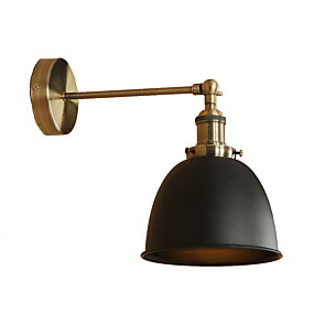 cheap Indoor Wall Lights-Retro / Vintage / Country / Modern / Contemporary Wall Lamps & Sconces Living Room / Shops / Cafes Metal Wall Light 110-120V /220-240V