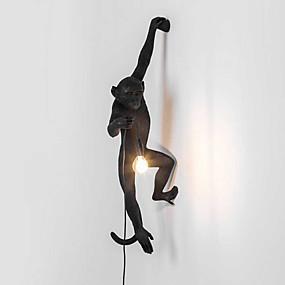 preiswerte Kinderzimmer-Ministil Retro / Modern / Zeitgenössisch Wandlampen Schlafzimmer / Studierzimmer / Büro / Kinderzimmer Harz Wandleuchte 110-120V /