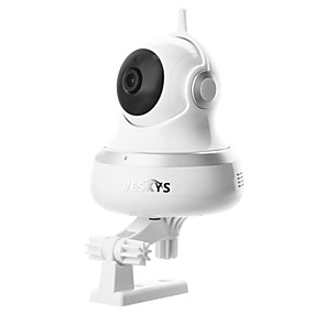 preiswerte VESKYS-Veskys® 720p hd 360-Grad-Birnenlampe Panorama-Fischauge drahtlose Wifi-IP-Kamera Infrarot-Nachtsicht / LED-Beleuchtung / Wolkenspeicher