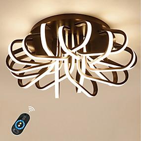 cheap Ceiling Lights & Fans-1-Light Ecolight™ 50 cm Dimmable / Lovely Flush Mount Lights Aluminum Acrylic Linear Anodized LED / Chic & Modern 110-120V / 220-240V / FCC / VDE