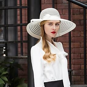 povoljno Melbourne Cup Carnival Hats-Til Kentucky Derby Hat / kape s Mašnica 1pc Vjenčanje / Zabava / večer Glava