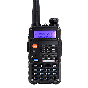 povoljno Poznati brend-baofeng ručni dual band 5km-10km 5km-10km walkie talkie dvosmjerni radio / 136-174mhz / 400-480mhz interfon mali radio preofessional fm primopredajnik