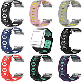 cheap Smartwatch Accessories-Watch Band for Fitbit ionic Fitbit Sport Band Silicone Wrist Strap