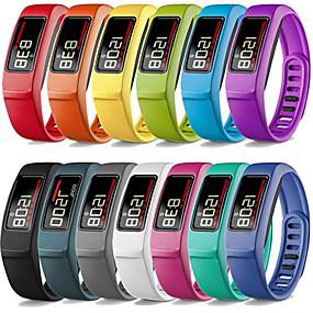 billige Telefoner og tilbehør-Klokkerem til Vivofit 2 Garmin Sportsrem Silikon Håndleddsrem