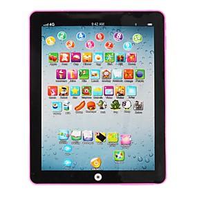 halpa Opetuslelut-Learning Tablet Opetuslelut Imitatiivinen iPad-lelu Aakkoset oppiminen Vanhempien ja lasten vuorovaikutus Mini kanssa Kuvaruutu Lapsen Kaikki 1 pcs Lelut Lahja / Kirjelukemispeli