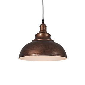 povoljno Lámpatestek-sjeverna europa vintage industrija metalna sjena privjesak svjetla 1 svjetla blagovaonica dnevni boravak kuhinja oslikana završnom obradom