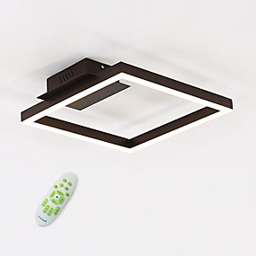 cheap Ceiling Lights & Fans-1-Light 40 cm Bulb Included Flush Mount Lights Metal Acrylic Linear Painted Finishes Chic & Modern 110-120V / 220-240V