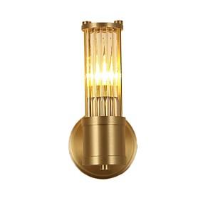 povoljno Lámpatestek-QIHengZhaoMing Crystal LED / Modern / Comtemporary Zidne svjetiljke Stambeni prostor / Study Room / Office Metal zidna svjetiljka