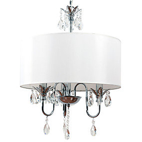 povoljno Lámpatestek-BriLight Bubanj Privjesak Svjetla Ambient Light Electroplated Metal Fabric Mini Style 110-120V / 220-240V / E12 / E14