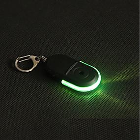 preiswerte Haus & Garten-whistle sound led-licht anti-verlorene alarm schlüsselfinder locator keychain