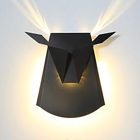 preiswerte Kinderzimmer-CONTRACTED LED® Matt / Kinder LED / Moderne zeitgenössische Wandlampen Wohnzimmer / Schlafzimmer / Studierzimmer / Büro Metall Wandleuchte 110-120V / 220-240V 7 W / integrierte LED