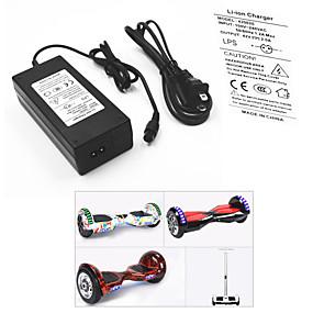 preiswerte Werkzeuge & Zubehör-Stromadapter / Kabel fürs Hoverboard / Elektrisches Batterieladegerät 42 V V 2 A A Eingang 100-240 V V Wechselstrom Für Hoverboard / Waveboard 13.8*6.0*3.6 cm Kunststoff