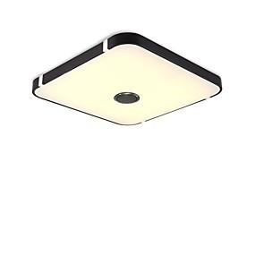 povoljno Lámpatestek-1pc 24 W 48 LED zrnca Bluetooth zvučnik Daljinsko upravljanje Zatamnjen Stropna svjetla Toplo bijelo Hladno bijelo Prirodno bijelo 220-240 V Za dom / ured Za dnevnu sobu / blagavaonicu Za spavaću sobu