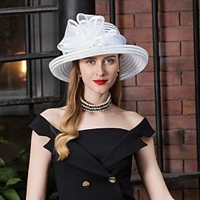 povoljno Melbourne Cup Carnival Hats-Til Kentucky Derby Hat / kape s Štras / Mašnica 1pc Vjenčanje / Zabava / večer Glava