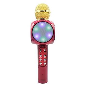 preiswerte Audio & Video für Ihr Zuhause-1816 Bluetooth Mikrofon Wireless-Lautsprecher Dynamisches Mikrofon Handmikrofon Für Karaoke Mikrofon