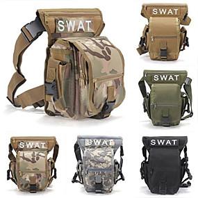preiswerte Jagdtaschen-5 L Hüfttasche Gürteltaschen Militärischer taktischer Rucksack Multifunktions Verschleißfestigkeit Außen Jagd Wandern Camping Grau Camouflage Khaki