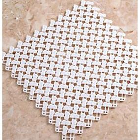 levne Podložky a koberečky-1ks Klasické / Moderní Koupelnové podložky Plast / PVC Geometrický Obdélníkový Koupelnové Non-Slip