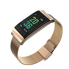 preiswerte Unterhaltungselektronik-STSB23 Herren Smartwatch Android iOS Bluetooth Wasserfest Herzschlagmonitor Blutdruck Messung Touchscreen Langes Standby Schrittzähler Anruferinnerung AktivitätenTracker Schlaf-Tracker Sedentary
