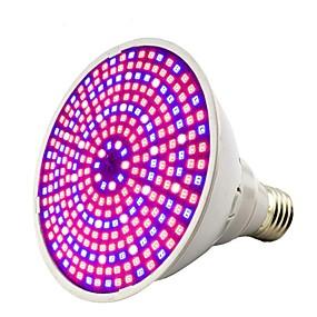 hesapli Işıklar ve Aydınlatma-1pc 30 W Büyüyen ampul 1600 lm E26 / E27 290 LED Boncuklar SMD 2835 Dekorotif Sıcak Beyaz Serin Beyaz Kırmızı