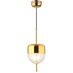 povoljno Viseća rasvjeta-LightMyself™ Mini Privjesak Svjetla Downlight Golden Slikano završi Metal Prilagodljiv 110-120V / 220-240V Bulb Included / Integrirano LED svjetlo