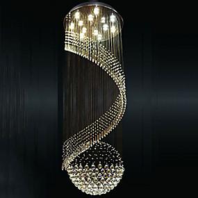 povoljno Viseća rasvjeta-Privjesak Svjetla Downlight Electroplated Metal LED 110-120V / 220-240V Meleg fehér / Hladno bijela Bulb Included / GU10