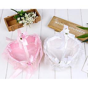 """povoljno Darovi i pokloni za zabave-Flower Basket Saten 2 3/4 """"(7 cm) Biser / Cvijet od satena / Čipka 1 pcs"""