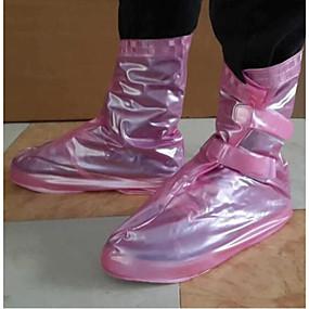 preiswerte Schuh Cover-Damen Schuh Abdeckungen Solide Sport PVC EU36-EU42