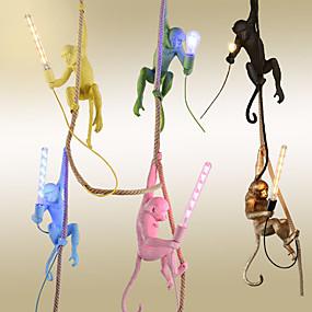 povoljno Viseća rasvjeta-konop konop mini privjesak svjetlo osvjetljen završava smola smola mini stil, slatka 110-120v / 220-240v žarulja nije uključena / fcc / e26 / e27