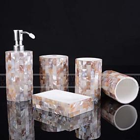 preiswerte Matten & Teppiche-Bad Zubehör-Set Niedlich / Kreativ Harz / PVC 5 Stück - Bad Einzelbett(150 x 200 cm)
