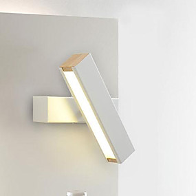 cheap Indoor Wall Lights-Dimmable Modern / Contemporary Flush Mount wall Lights Study Room / Office / Shops / Cafes Metal Wall Light IP65 220-240V 1 W