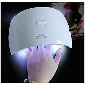 levne Sušička a lampa na nehty-SUN Nail Dryer 24 W Pro 12 V Nástroj na nehty Klasické Denní Svítící