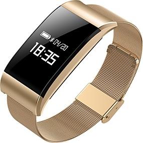 preiswerte Relógios & Acessórios-a66 smart armband bluetooth fitness tracker unterstützung benachrichtigung / pulsmesser sport wasserdichte smartwatch für iphone / samsung / android handys