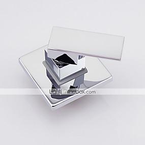 preiswerte Meist Verkaufte-Moderne Chrom Wandmontage Keramisches Ventil Bath Shower Mixer Taps / Messing / Einhand Ein Loch