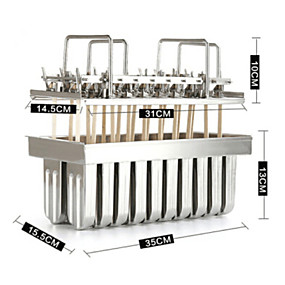 preiswerte Eis Geräte-1pc Edelstahl Heimwerken Für Eiscreme Dessert-Werkzeuge Backwerkzeuge