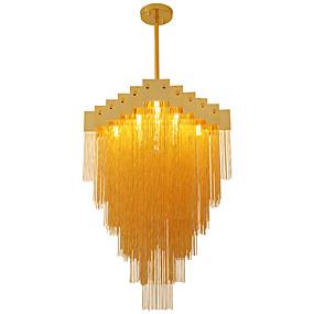 cheap Chandeliers-OBSESS® 60 cm Lovely Chandelier Metal Crystal Electroplated LED / Modern 110-120V / 220-240V