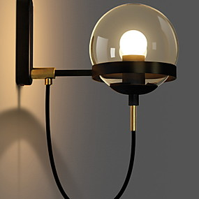 cheap Indoor Wall Lights-Cool Modern Contemporary Wall Lamps & Sconces Living Room Metal Wall Light 110-120V / 220-240V 40 W / E27