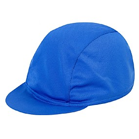 cheap Cycling & Motorcycling-Cycling Cap / Bike Cap Cap Solid Color Lightweight UV Resistant Breathable Cycling Moisture Wicking Bike / Cycling Army Green Green / Yellow Royal Blue Polyester Elastane for Men's Women's Adults'
