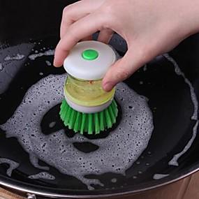 preiswerte Küchen Reinigungsbedarf-Küche Reinigungsmittel ABS + PC Fussel-Entferner & Bürste Arbeitsutensilien / Kreative Küche Gadget 1pc