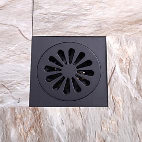 preiswerte Renovierung-Wasserhahn Zubehör - Gehobene Qualität - Moderne Messing Bodenablauf - Fertig - Öl geriebene Bronze