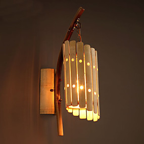 cheap Outdoor Wall Lights-Creative Retro Vintage / Novelty Wall Lamps & Sconces Dining Room / Indoor / Shops / Cafes Metal Wall Light IP44 220-240V 40 W / E27