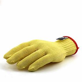 preiswerte Handschuhe-2 pcs 100g / m2 Polyester gestricktes Stretch Handschuh Nicht rutschig