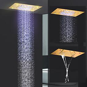 povoljno Tuš glave-suvremeni kišni tuš ti-pvd značajka - kiša / novi dizajn, vodena tuš glava