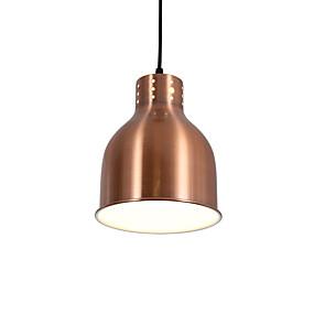 povoljno Stropna svjetla i ventilatori-moderna plavokoslava crvena brončana žarulja 1 svijetla sjena u dnevnoj sobi blagovaonica koristi 1 žarulje e26 / e27
