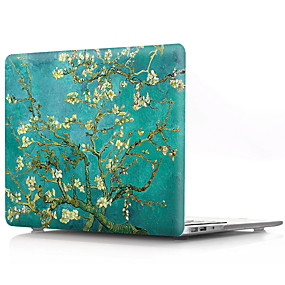 cheap Clearance-MacBook Case Flower Plastic for New MacBook Pro 15-inch / New MacBook Pro 13-inch / Macbook Pro 15-inch