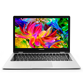 preiswerte Laptops und Grafikkarten-Teclast F6 PRO 13.3 Zoll Touchscreen Intel Corem M3-7Y30 128GB SSD Intel HD Microsoft Windows 10 Laptop Notizbuch / Geschäftsbüro